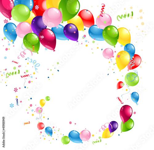 Balloons swirl