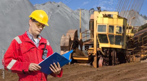 Mining foreman