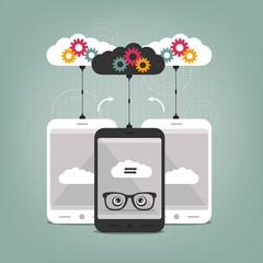 smart phones concept