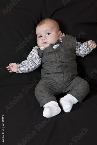 Little boy with bow-tie