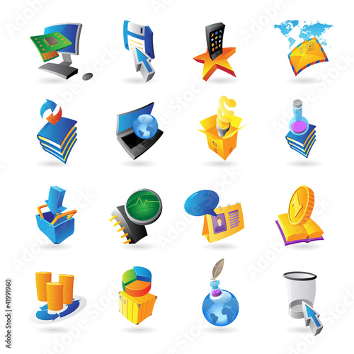 Icons for technology