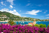 Fototapety Cote d'Azur, french reviera, Villefranche-sur-Mer