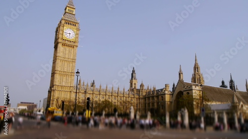 time lapse big ben, london