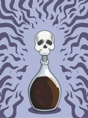 Bottle of Death Poison