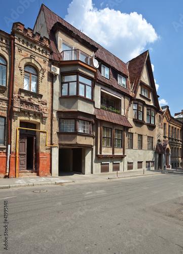 old building in Kharkov. Ukraine.