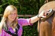 Pferd Striegel