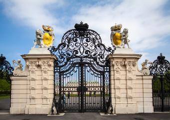 entrance to  Belvedere