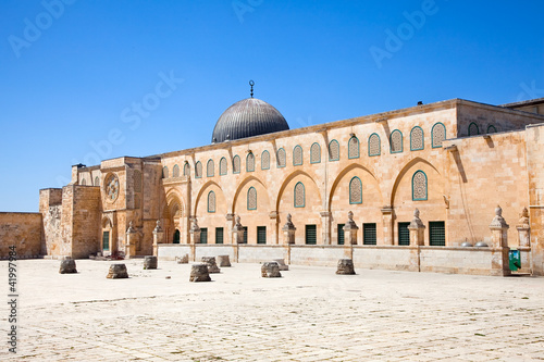 Al-aqsa mousque (Har Ha-Bayit) in Old City of Jerusalem