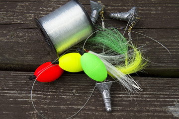 Fishing Weights and Line