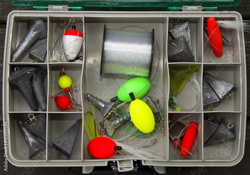 Fishing Tackle Box Top