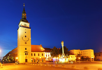 Trnava square - Slovakia city
