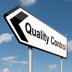 Quality control concept.