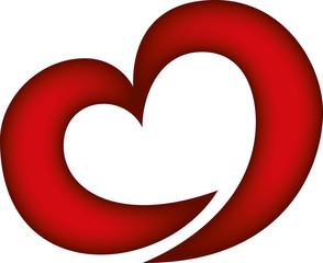 cuore rosso - red hearth