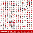 225 red icons