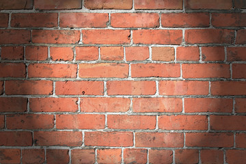Spotlighted, 1890's Brick Wall
