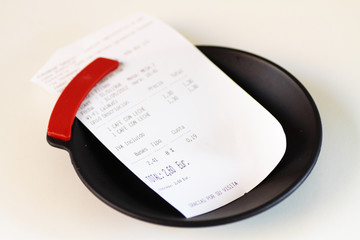 recipient to pay bill in establishments
