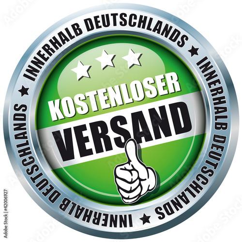 Kostenloser Versand - Innerhalb Deutschlands - Button