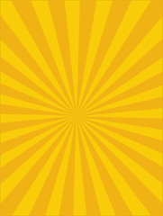 Vector Circus background, Yellow-Orange, Sun light