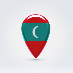 Geo location national point label