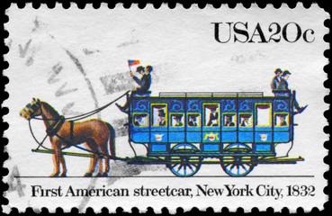 USA - CIRCA 1983 Streetcar