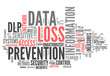 """Word Cloud """"Data Loss Prevention"""""""