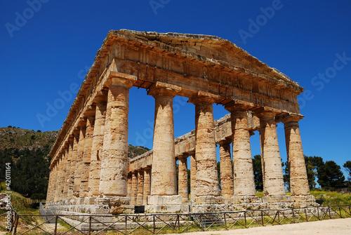 Segesta - Il tempio