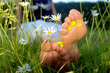 young woman enyoing sunshine_feet