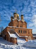 Fototapete Architektur - Winter - Kultstätte