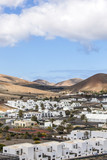 Village Uga on Canary Island Lanzarote, Spain
