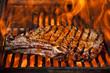 canvas print picture - Top sirloin steak