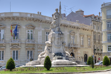 Monument to the Fallen, Avenida da Liberdade, Lisbon.