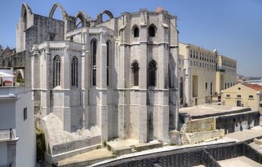 Carmo Convent, Lisboa, Portugal.