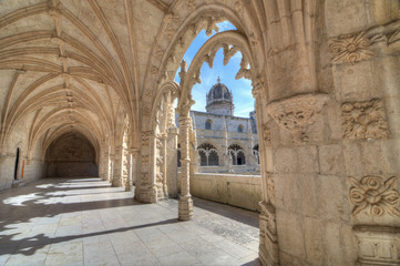 Jerónimos Monastery, Lisbon, Portugal,
