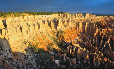 The Beautiful Sunrise at Bryce Point