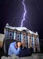 Italian financial crisis