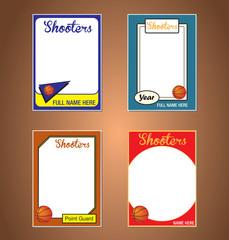 Basketball Trading Card Frames