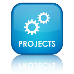 Projects glossy button