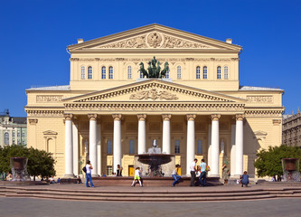 Grand Theatre  in Moscow