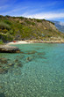 grèce; ioniennes, kefalonia : plage d'aghio thoma