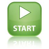 Start green button poster