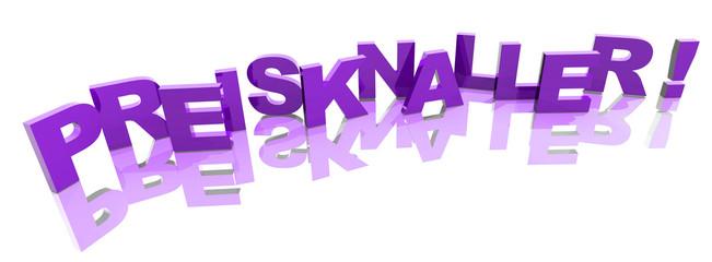 3D Buchstaben - PREISKNALLER