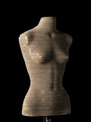 woman's body - mannequin - manichino donna