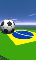 football - brésil