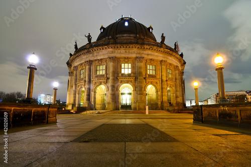 Fototapeten,berlin,insel,nacht,architektur