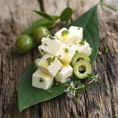 Feta mit Oliven