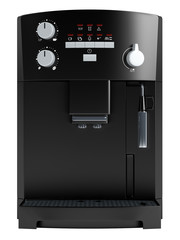 Black coffee machine