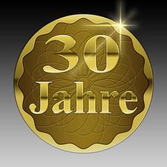 30 jähriges Jubiläum