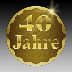 40 jähriges Jubiläum