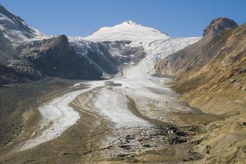 Johannisberg and Pasterze glacier
