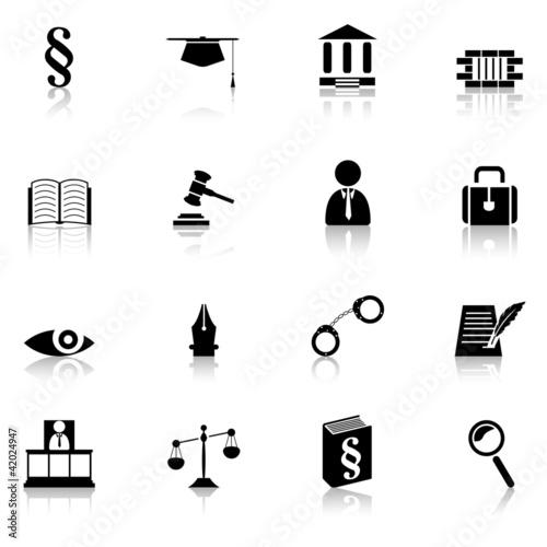 Justiz Icons